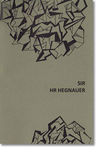 Sir, HR Hegnauer